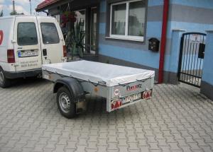 Ochranná plachta pre vozík