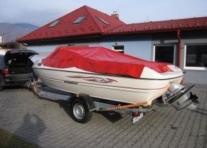 Ochranná plachta pre čln