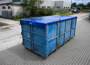 Ochranná plachta pre kontajner