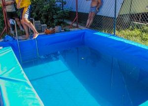 Krycia plachta úre bazén