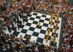 šachová plachta